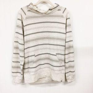 Reef   Light Gray Striped Hoodie